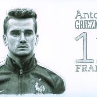Footballeur Antoine Griezmann.